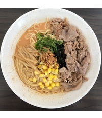 Sliced Beef Ramen from Beppu Menkan Restaurant