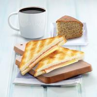 Ham & Cheese Banana Set - Toast Box from Toast Box