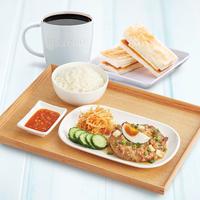 Salted Egg Minced Pork Set - Toast Box from Toast Box
