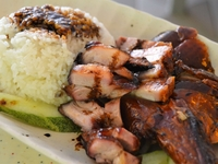 Roasted Duck + Char Siew Rice from Tiong Bahru Market Mix & Match