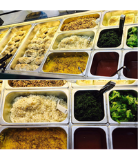 Healthy Sharing Platters and Individual Meals from Gymbox