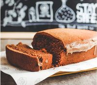 Double Chocolate Chips Loaf Cake from The Food Peeps