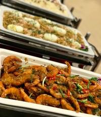 buffet catering set up - spice village catering from Spice Village Catering