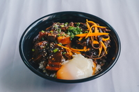 Five Spice Apple Pork Bowl from Bowl Chap