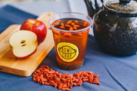 Goji Berry Apple Water with Chia Seed from Bowl Chap