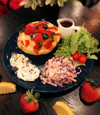 Frutti Pancake from Dine-Out Western Catering