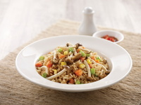 Vegetarian Fried Rice from Chopsticks by The Asian Kitchen