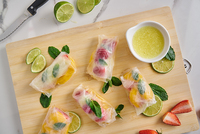 Vietnamese Rice Paper Roll from Eatology