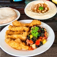 Schnitzel Set from Pita & Olives
