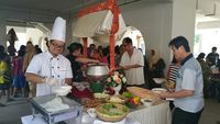 buffet catering live station set up - Eatz Catering from Eatz Catering