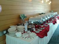buffet catering set up - Eatz Catering from Eatz Catering