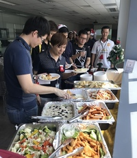 Daniel, Christmas Buffet B - katong catering from Katong Catering