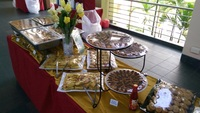 Buffet Setup from Katong Catering