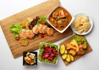 Lunch and Dinner Buffet  catering Setup - katong catering from Katong Catering