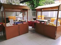 Live Stations buffet Catering setup - katong catering from Katong Catering