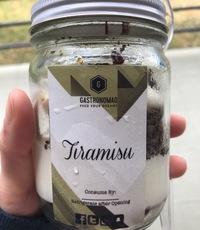 Tiramisu - Cake Jars by Su Linn from THWC by GastroNomad