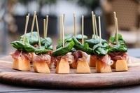 Prosciutto Melone Tray - <Bella Pasta> Catering Photo from Bella Pasta