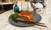 Lasagne from Café de Paris - Catering
