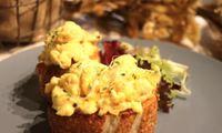 Egg Toast from Café de Paris - Catering