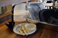 Mini buffet disposable packaging from Om Nom - Taste of Thai