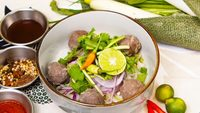 Beef Meat Ball Pho from Pho Mot
