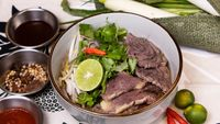 Well Done Beef Pho from Pho Mot