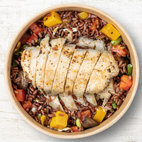 Red Rice Chicken from Green Monster Salads