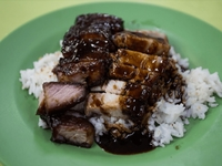 Char Siew Roasted Pork Rice from Hong Lim Centre Mix & Match