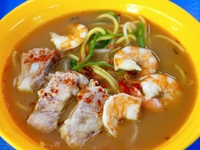 Prawn Noodle from Hong Lim Centre Mix & Match