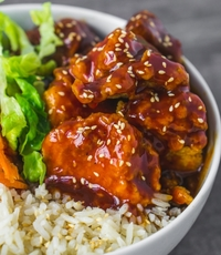 The Spicy Teriyaki from Chick N' Grains