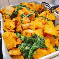 Pumpkin and Kale from Fete Up