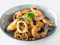 Seafood Aglio Aglio from Flour & Water