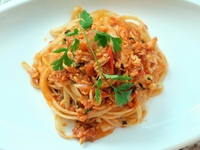 Spicy Rosso Crabmeat Pasta  from Flour & Water