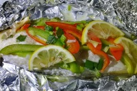 "Grouper ""En Papillote"" from Antonin Catering"