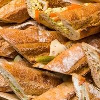 Baguette Sandwiches - <Le Pain Quotidien> Catering Photo from Le Pain Quotidien