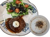 Japanese Hamburg Rice with Garlic Butter from EZO Hokkaido Eats