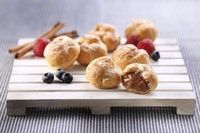 Mini Chocolate Cream Puff - Select Catering from Select Catering