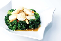 Broccoli with Scallop from Jiak Modern Tze Char