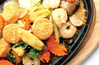 Mixed Vegetable Tofu from Jiak Modern Tze Char