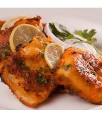 Fish Tikka from Indian Dhaba