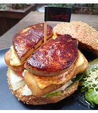 Double Foie Gras Hoki Fish Burger  from BURGEROOM