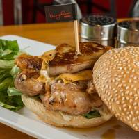 Foie Gras Chicken Burger from BURGEROOM