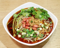 Authentic Chongqing Style Hot and Sour Soup with Rice Vermicelli from Yung's Shanghai Kitchen