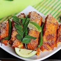 Roasted Signature Fish Fillet with Roasted Veggies   from Paleo Taste