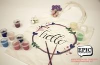 Virtual Tote Bag Painting Workshop from Epic Workshops