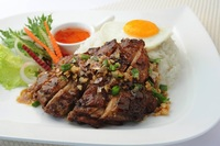 Grilled Lemongrass Chicken Set from So Pho