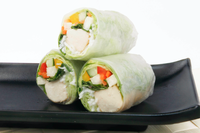 Vegetarian Summer Rolls (Tofu) from So Pho