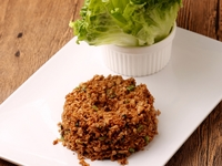Spiced Mince Meat Wrapped with Lettuce from Innoveggie