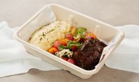 24-hour Slow Braised Wagyu Beef Cheek from Island Kitchen Collective