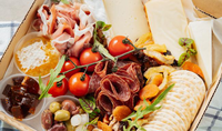 Mercato Gatto Chacuterie Platter from Island Kitchen Collective